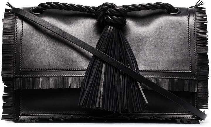 Garavani fringed shoulder bag