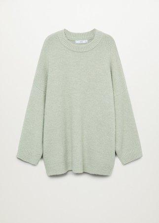 Oversize knit sweater - Women | Mango USA