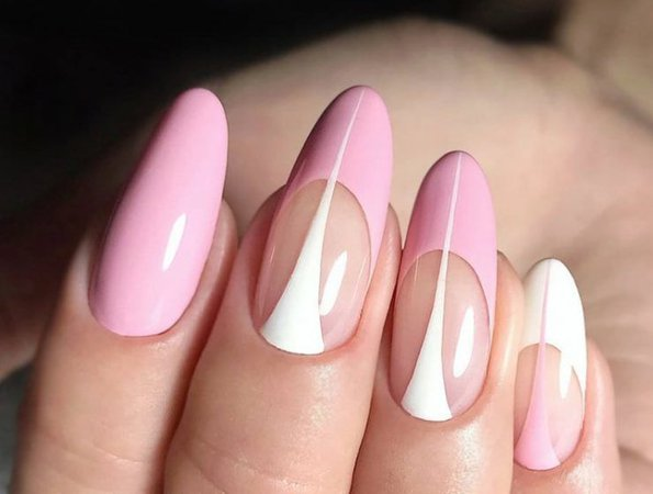 Pink Alternative French Tip
