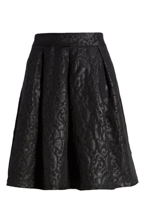 Gibson x Hi Sugarplum! Holiday Etoile Jacquard Skirt (Regular & Petite) | Nordstrom