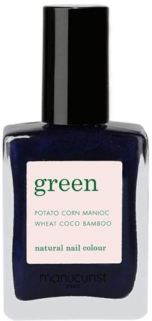Green Nail Lacquer - Dark Night