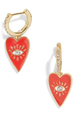 BaubleBar Isha Huggie Earrings | Nordstrom