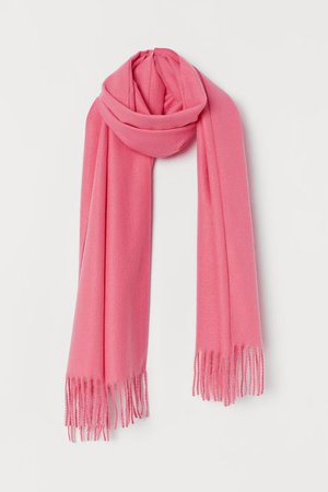Soft Scarf - Pink - Ladies | H&M US