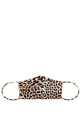 Lovers + Friends Protective Face Mask in Mixed Leopard | REVOLVE