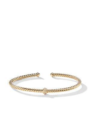 18Kt Yellow Gold Jack De Boucheron Wrap Bracelet Continuity   Farfetch.com