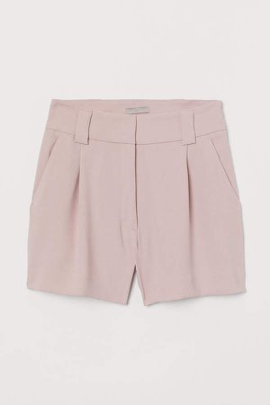 Tailored Shorts - Pink
