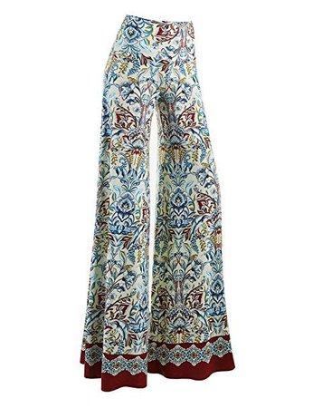 (175) Pinterest - Women's Comfy Chic Palazzo Lounge Pant - Made in USA | Pantalones de fiesta
