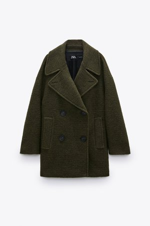 WOOL BLEND OVERSIZED COAT | ZARA United States