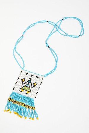 Vintage 1970s Seed Bead Necklace | Free People