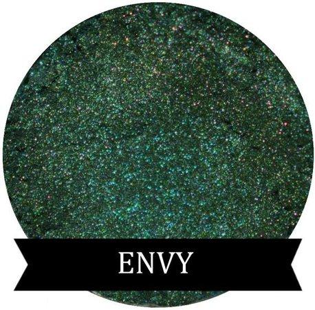 Shimmer Green Eyeshadow ENVY | Etsy