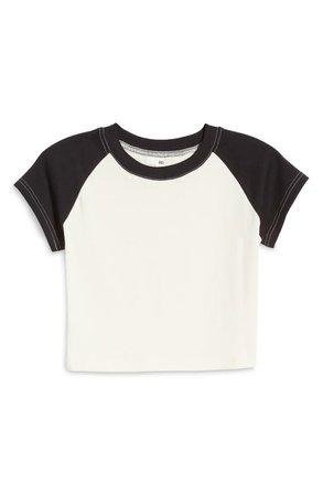 BP. Raglan Sleeve Cotton Jersey Top   Nordstrom