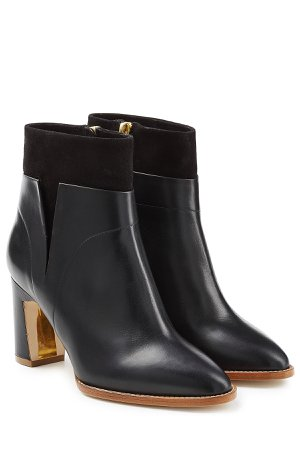 Woodlea Leather and Suede Ankle Boots Gr. EU 38.5