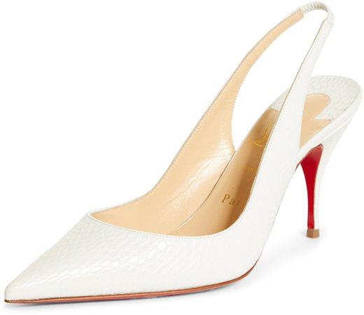 Clare Pointed Toe Slingback Pump
