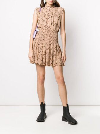 GANNI polka-dot Skirt - Farfetch