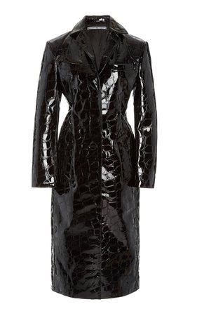 Croc Leather Coat Alexander Wang