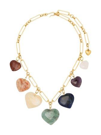 Brinker & Eliza Carpe Diem gold-plated Charm Necklace - Farfetch