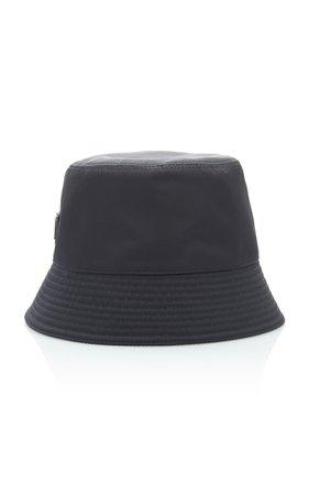 Prada Logo-Embellished Shell Bucket Hat