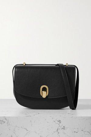 Savette - Tondo 22 Leather Shoulder Bag - Black