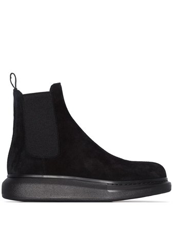 Alexander McQueen Hybrid Chelsea Boots - Farfetch