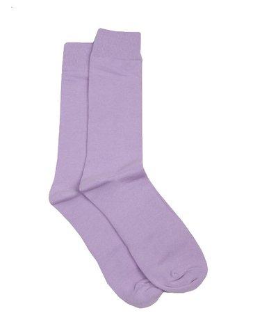 purple long sock