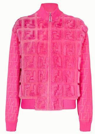 Pink Fendi x Nicki Minaj Jacket