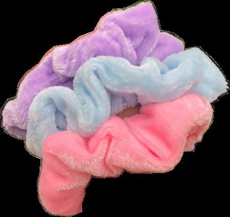 vsco purple pink blue scrunchie freetoedit...