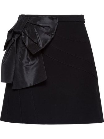 Miu Miu Cady skirt with bow £725 - Shop Online - Fast Global Shipping, Price