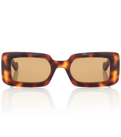Rectangular Acetate Sunglasses | Loewe - Mytheresa