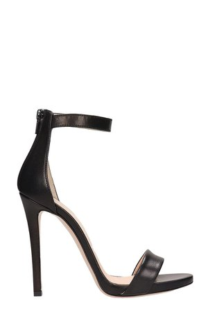 Marc Ellis Black Leather Sandals