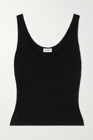 Rio Stretch-jersey Tank - Black
