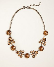 Crystal Statement Necklace | Ann Taylor
