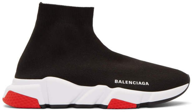 Black and Red Speed Sneakers