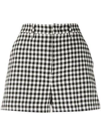 RedValentino Gingham Check Shorts - Farfetch