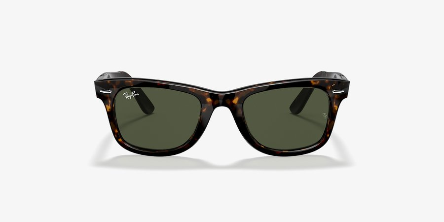 Ray-Ban RB2140 ORIGINAL WAYFARER CLASSIC 50 Green & Tortoise Sunglasses | Sunglass Hut USA