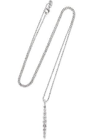 Anita Ko | Twiggy 18-karat white gold diamond necklace | NET-A-PORTER.COM