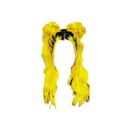 yellow doll hair