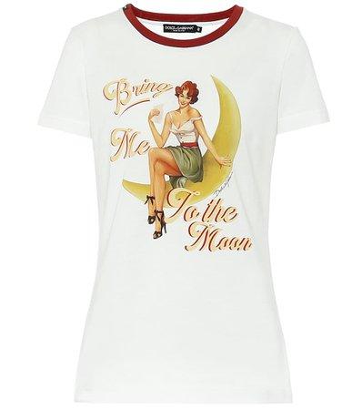 Dolce & Gabbana - Cotton T-shirt | Mytheresa