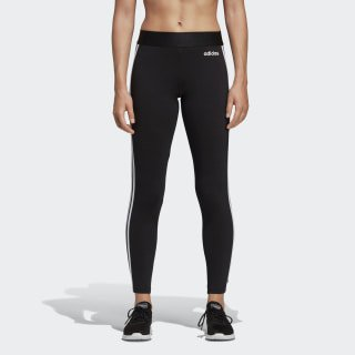 adidas Essentials 3-Stripes Tights - Black | adidas US