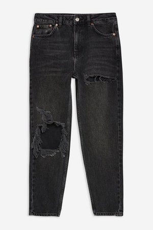 PETITE Willow Ripped Mom Jeans | Topshop