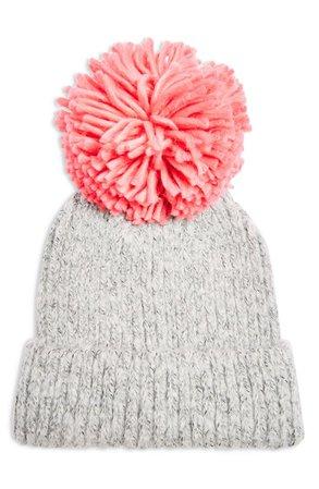 Topshop Big Pom Knit Beanie | Nordstrom