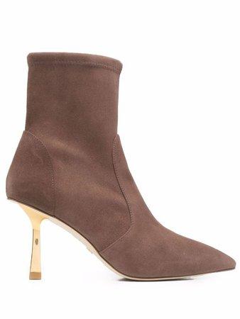 Stuart Weitzman sculpted heel ankle boots - FARFETCH