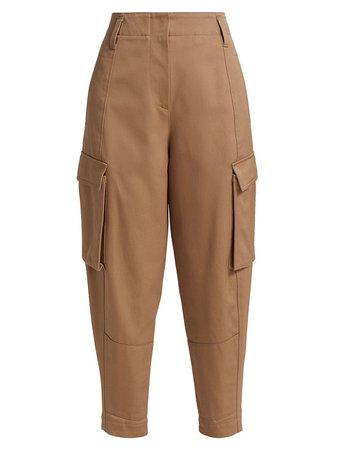 Brunello Cucinelli Cotton Cargo Pants | SaksFifthAvenue
