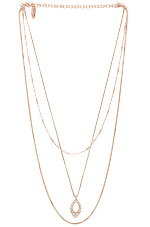 The Pave Marquise Charm Necklace