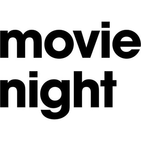 Movie Night text