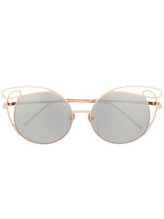 Linda Farrow Precious Sunglasses - Farfetch