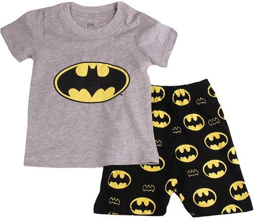 Amazon.com: Gray Bat Boys Shorts 2 Piece Pajama Set 100% Cotton G6057, Gray, 6T: Gateway