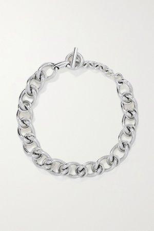 Silver Silver necklace | Bottega Veneta | NET-A-PORTER