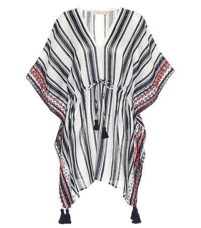 Tory Burch - Cover-up de lino de rayas | Mytheresa