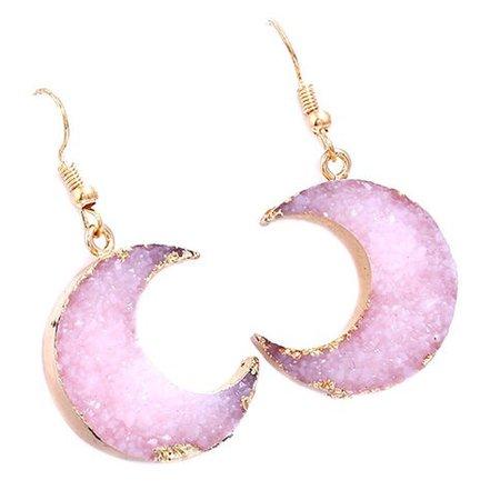 pink sailor moon earrings