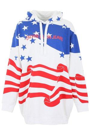 Calvin Klein Jeans American Fleg Hoodie Dress